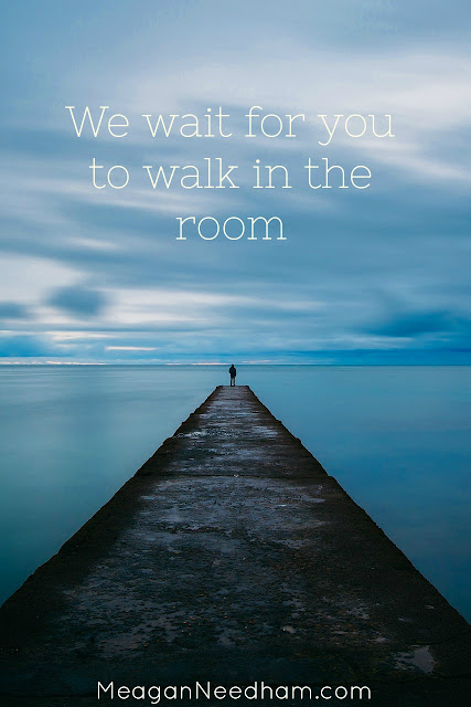 Make some room for God to move in your life.