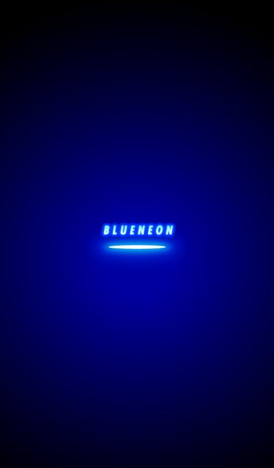 Blue Neon Theme.