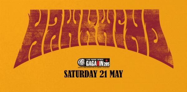 HAWKWIND: Σάββατο 21 Μαΐου @ Gagarin 205