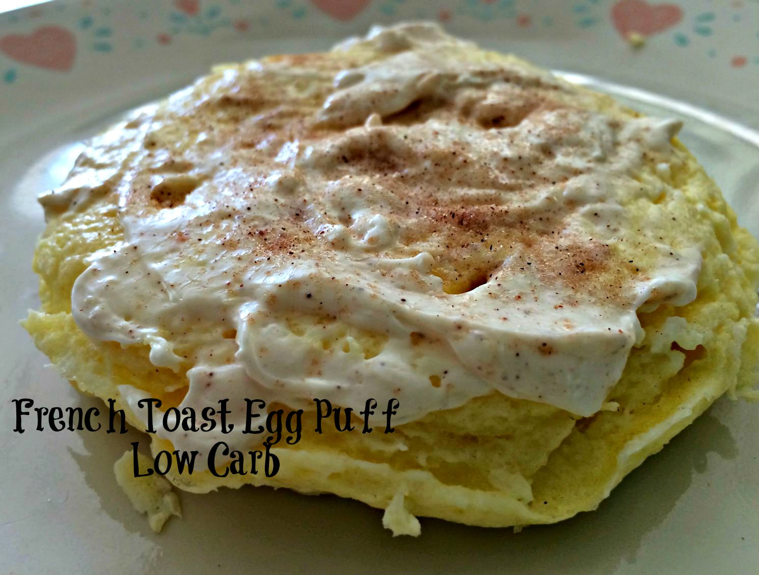 Titere Con Bonete Low Carb French Toast Egg Puff From