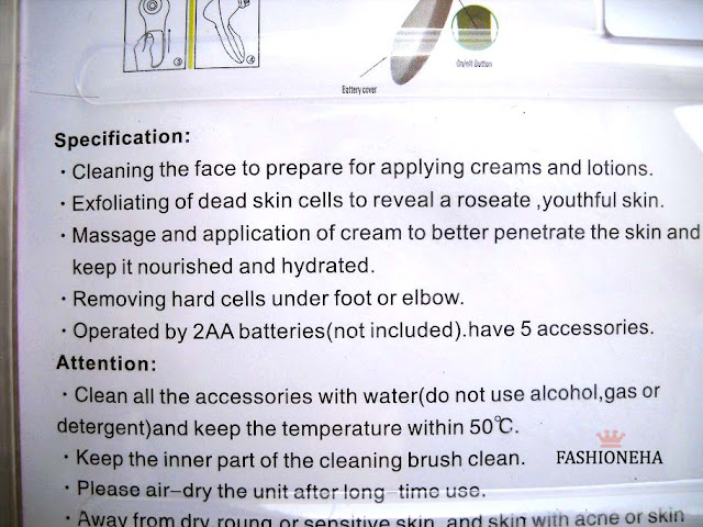 5+in+1+beauty+care+massager+instructions