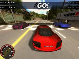 Download Game Supercars Racing Gratis Full Versi untuk PC (Permainan Balap Mobil)