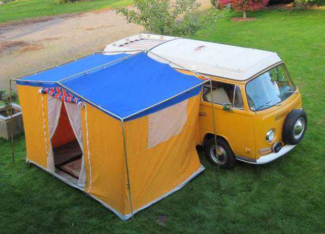 1972 T2a Westfalia Camper Van Vw Bus