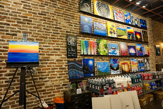 Get in Touch With Your Creative Side- Muse Paintbar- Hingham, MA