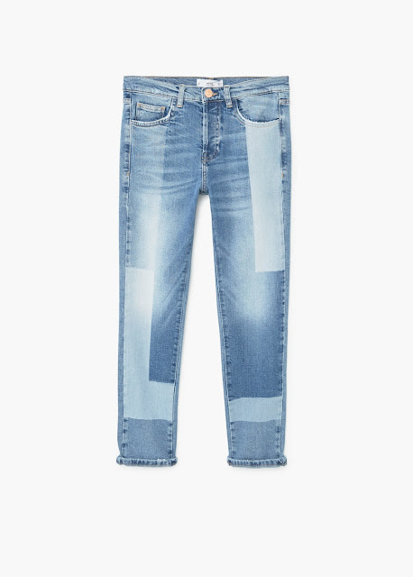 Mango Straight Unwords Jeans
