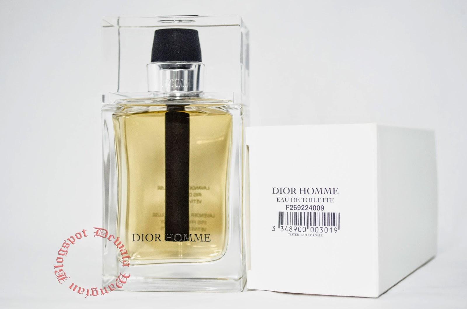 Christian Dior Homme Tester Perfume