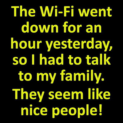 When The Wi-Fi Went Down