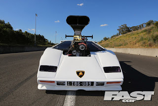 2500bhp drag lamborghini countach gaskustoms. Black Bedroom Furniture Sets. Home Design Ideas