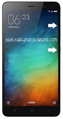 Cara Hard Reset Xiaomi Redmi 3X