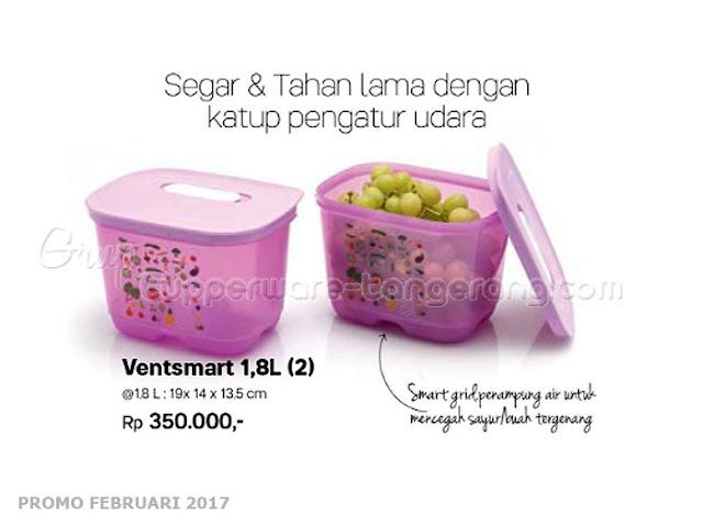 Ventsmart 1,8L Tupperware Promo Februari 2017