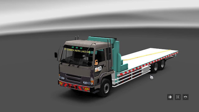 Fuso Selfloader Truck Semen ETS2