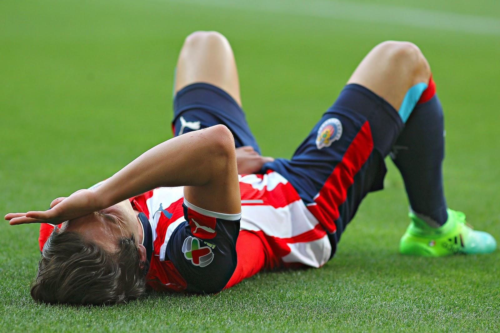 Ante Toluca, Carlos Fiero salió por lesión.