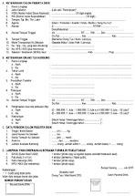 Contoh Formulir Pendaftaran Dalam Bahasa Inggris Dan Artinya Materi Pelajaran 7