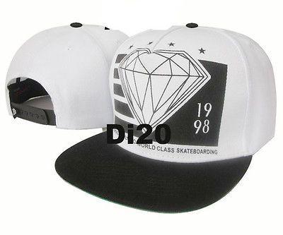 boné diamond snapback