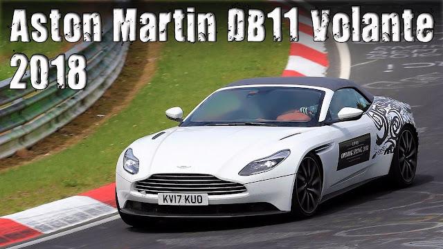 The Aston Martin DB11  Volante convertible