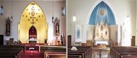 Before and After: Immaculate Conception in Kenton, Ohio