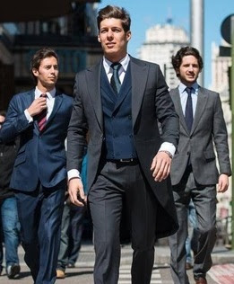 chaqué, traje, trajes de boda, trajes de novio, bodas, Especial Bodas, Especial Novios, Bodas 2017, blog moda masculina, moda masculina, wedding, Pronovias, Andrés Sarda,