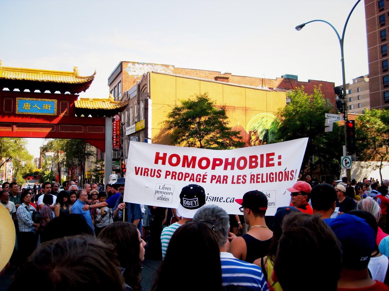La parade de la fierté gay de Rennes a toujours