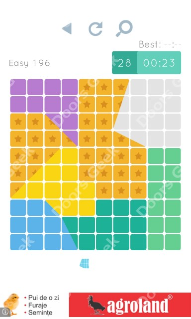 Cheats, Walkthrough for Blocks and Shapes Level 196