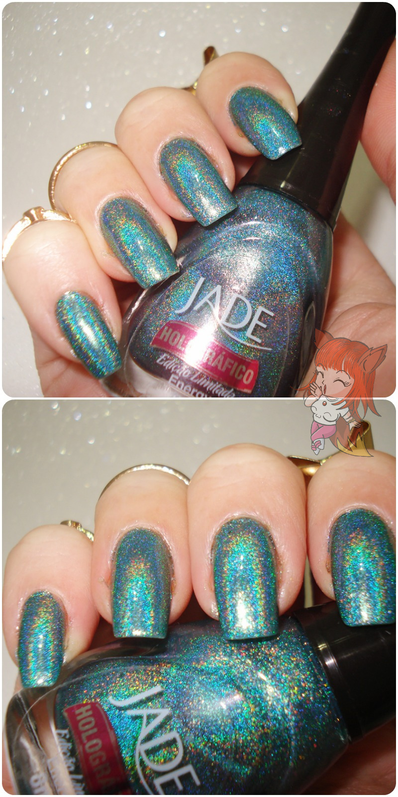 Esmalte Jade :: Energy - Resenha #12Meses12Esmaltes
