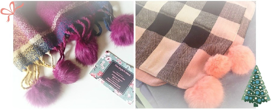 Last minute gift guide NI, Lisburn, Facebook, The Style Retreat, Pom pom scarf, The Style Guide Blog