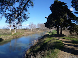 Últimos kilómetros del Canal du Midi