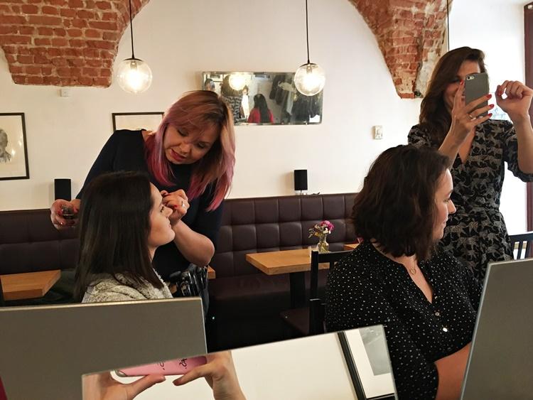Warsztaty makijażowe Lorgine