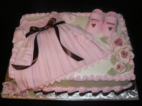 Birthday Cake newborn girl