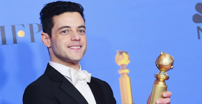 """""""Bohemian Rhapsody"""" e Rami Malek são destaques na premiação do Globo de Ouro"""