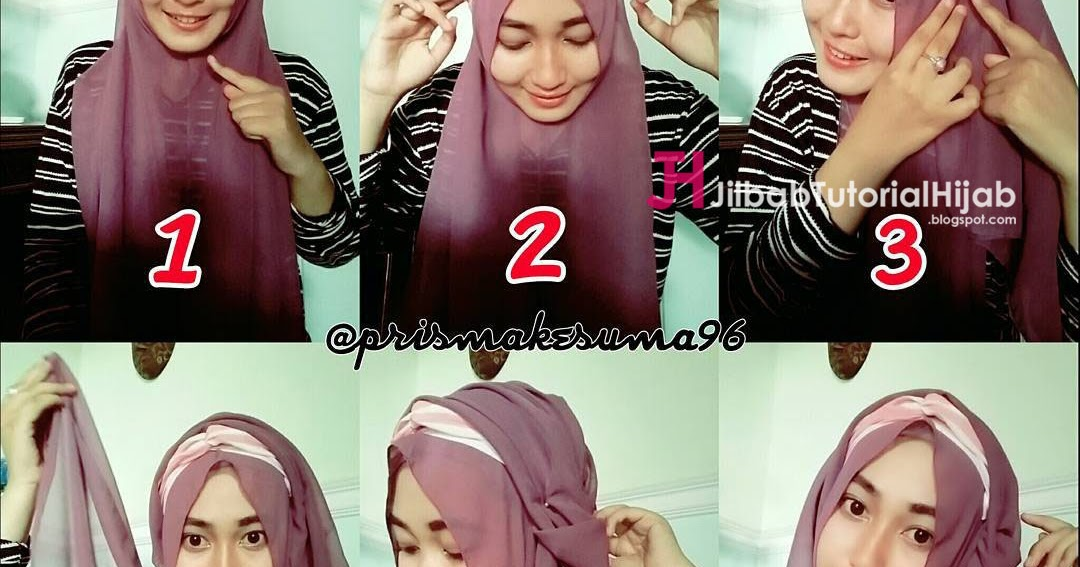 Foto Tutorial Hijab Pashmina Lucu Modernhijab77