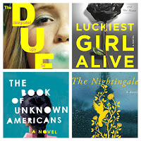 52 books in 52 weeks. The DUFF, Luckiest girl alive, The book of unknown americans and The nightingale