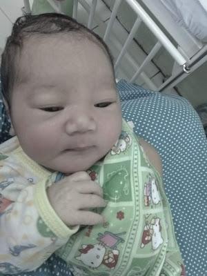 Kelahiran Anak Pertama - Baby Queen Hannah Kaya Inayah -Baby Girl
