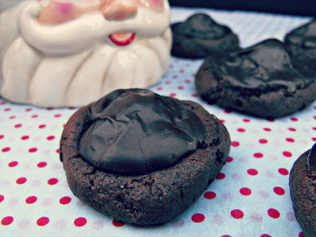 Chocolate Cherry Cookies via Desperately Seeking Gina
