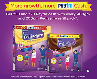 Paytm-PediaSure-Offer - www.paytm.com/pediasure