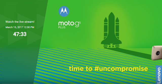 Moto G5 Plus Launching Today