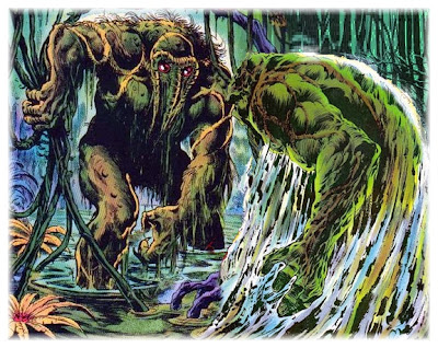 Swamp Thing vs the Man-Thing