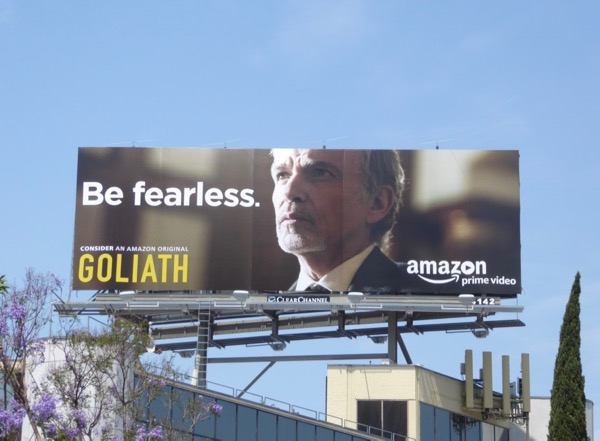 Goliath Be fearless 2017 Emmy billboard