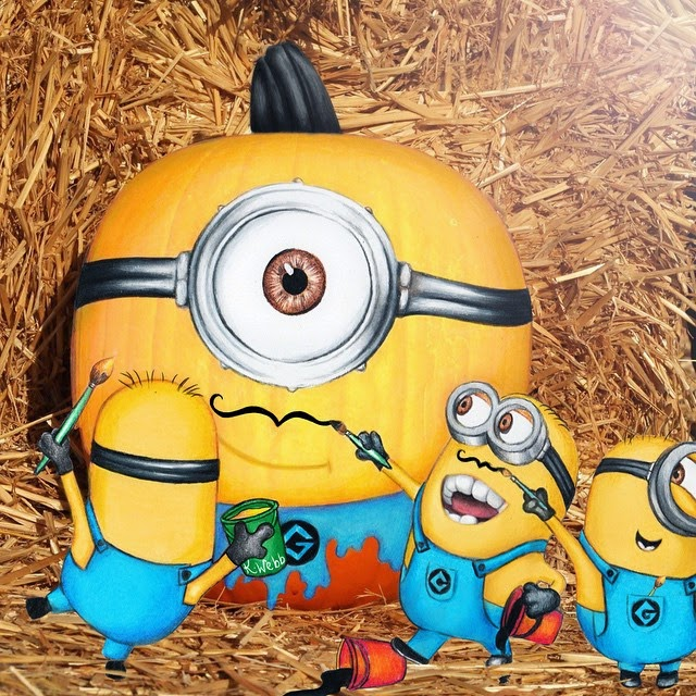 15-Minion-Halloween-Kristina-Webb-Colour-me-Creative-Drawings-www-designstack-co
