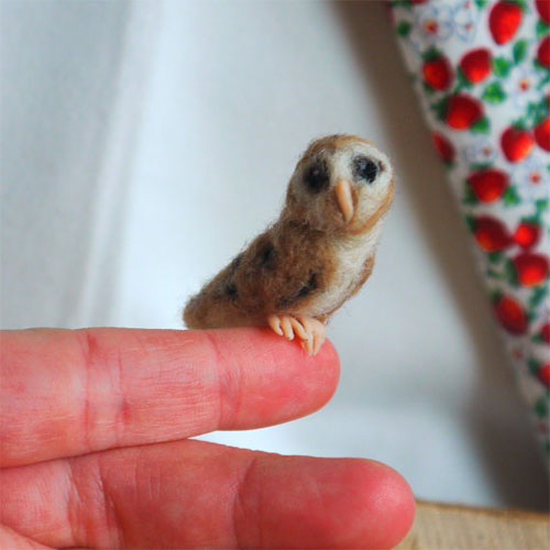 My Owl Barn The Whispering Wild Felted Creatures