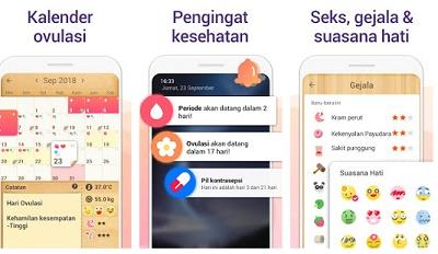 aplikasi kalender haid dan ovulasi