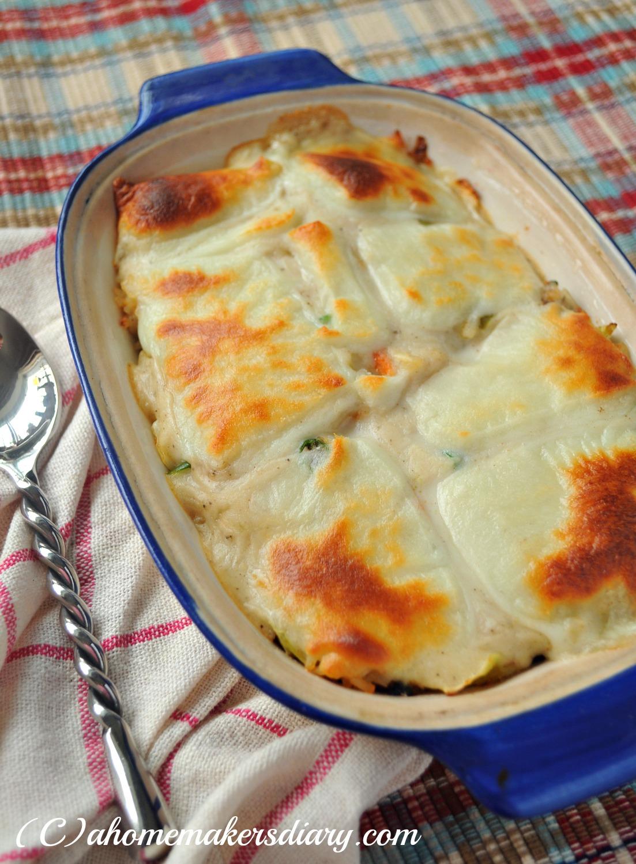 Japanese Chicken Doria Rice Gratin A Homemaker S Diary