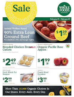 Whole Foods Flyer February 21 - 27, 2018
