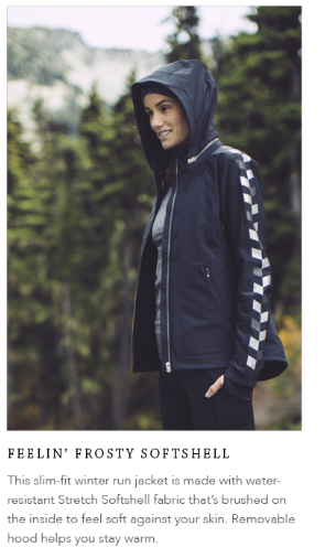 lululemon feeling frosty softshell