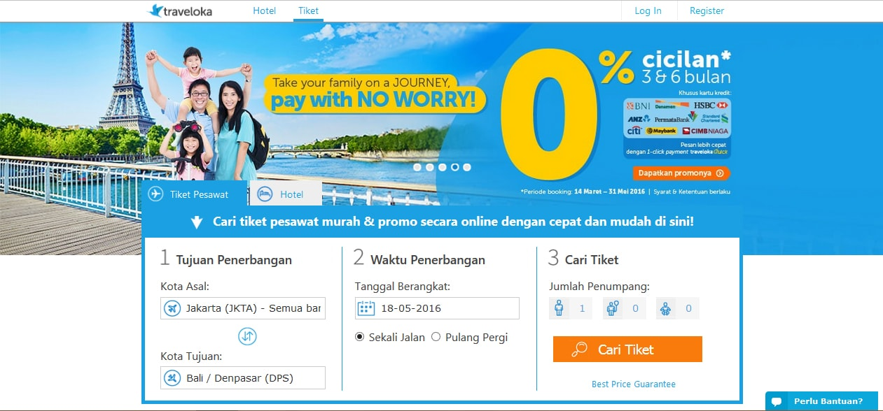 Traveloka Is Offering Up To RM188 Off Flight And Hotel