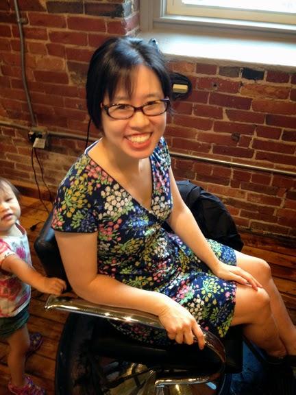 Grace Lin Makeup Professional Team: GraceLinBlog: Second Haircut For Robert