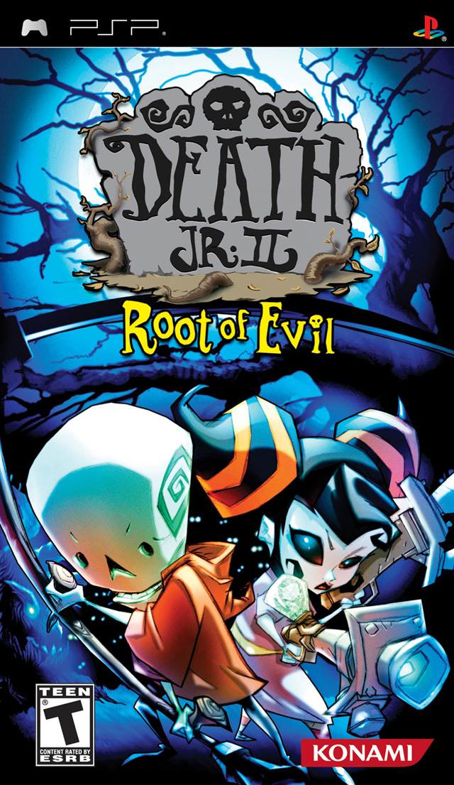 Death Jr. II - Root of Evil - PSP - ISO Download