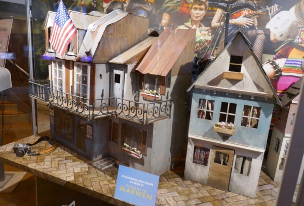 Welcome to Marwen WWII village models