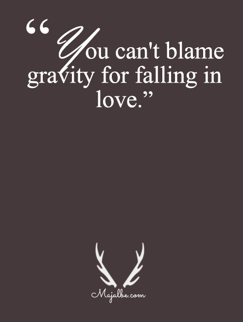 Gravity Is Not To Blame