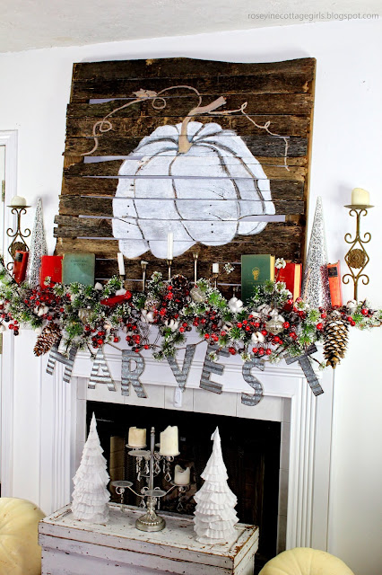 Farmhouse Fall Decor, Transition To Christmas, Cottage Style