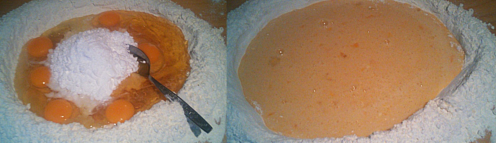 """Ciasto """"kwiatek"""" :)"""